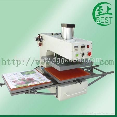 气动双工位热转移印机气动双工位烫画机气动服装烫钻机 1