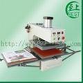 气动双工位热转移印机气动双工位