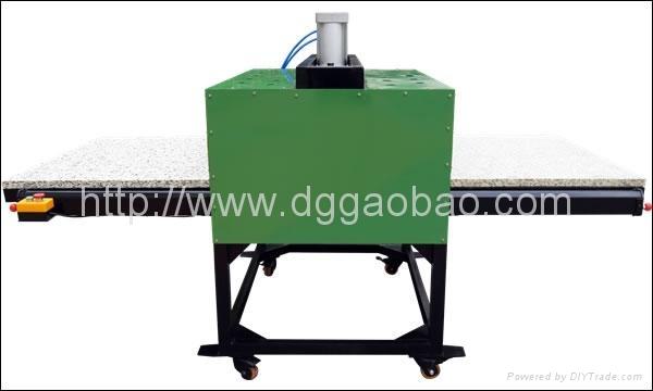 大型平板热升华转印机,大型平板热转印烫画机,布料印花机 4