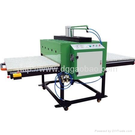 大型平板热升华转印机,大型平板热转印烫画机,布料印花机 1
