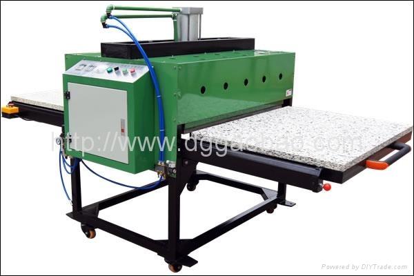 大型平板热升华转印机,大型平板热转印烫画机,布料印花机 3