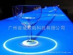 酒吧互動投影吧台