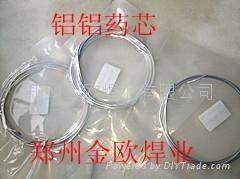 铝铝药芯焊条