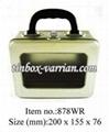 Carry Window Tinbox  - Silver