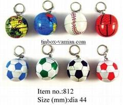 Key Chains - Basketball / Football / Globe