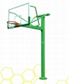 地埋方管籃球架