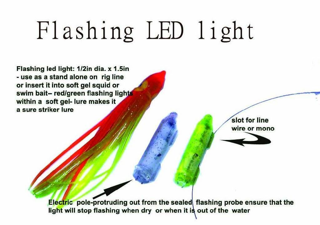 Micro led fishing light hcml 100 hc fishing supply for Fishing light attractor