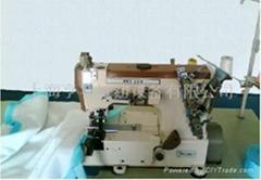 超高速平臺式打褶繃縫機
