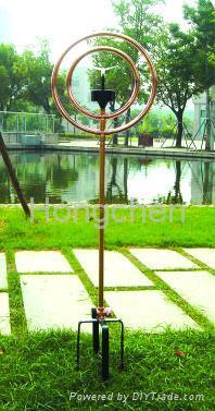 Decorative Water Sprinkler with Solar Lamp 4