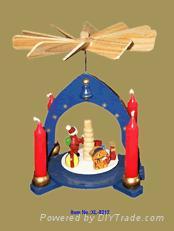 Christmas Pyramid (Holz Pyramiden, Christmas Windmill)