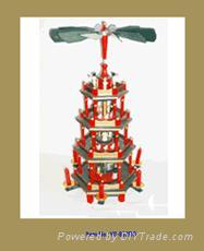 Christmas Pyramid (Holz Pyramiden orChristmas Windmill)