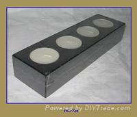 Candle holder (wood)