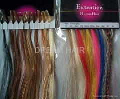 Nail hair.Stick hair.Ring hair extension supplier