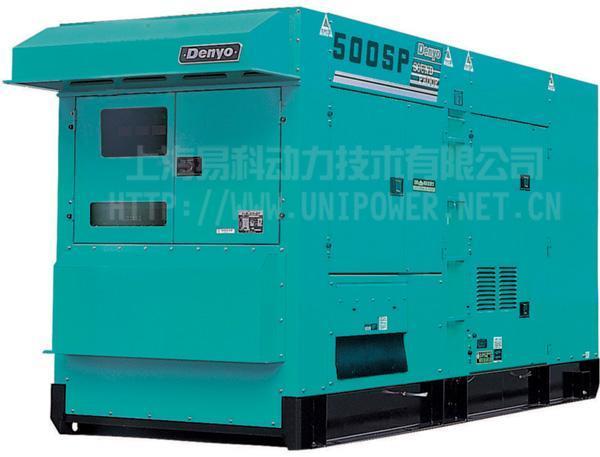 DCA-500SPK日本電友(DENYO)靜音型柴油發電機組 1