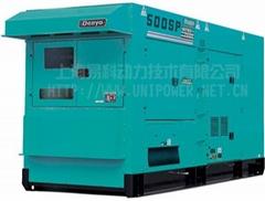 DCA-500SPK日本电友(DENYO)静音型柴油发电机组