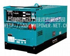 DCW-480ESW日本电友Denyo柴油机驱动发电电焊机
