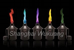 Colour Flame Candles/candle oils-Colour Flame metal can candle