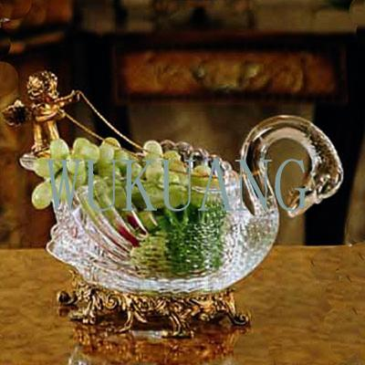 Crystal Glass Home Decorations Collections Bowl Candy