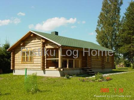 Prefab Cabins on Log Cabin   Ristiku 35  Estonia Manufacturer    Prefabricated Building