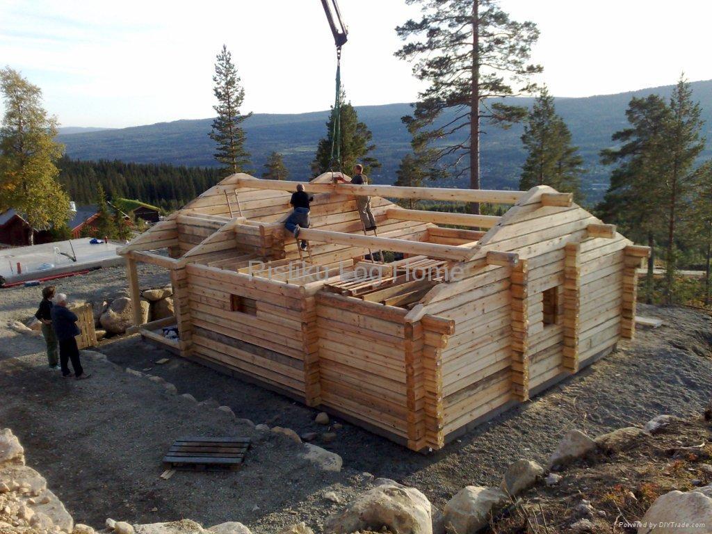Log Cabin Ristiku 35 Estonia Manufacturer