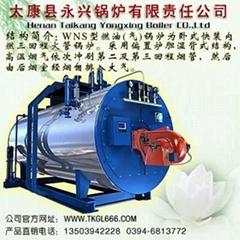 燃油燃氣燃煤蒸汽鍋爐