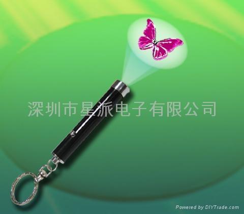 投影小手电筒 4