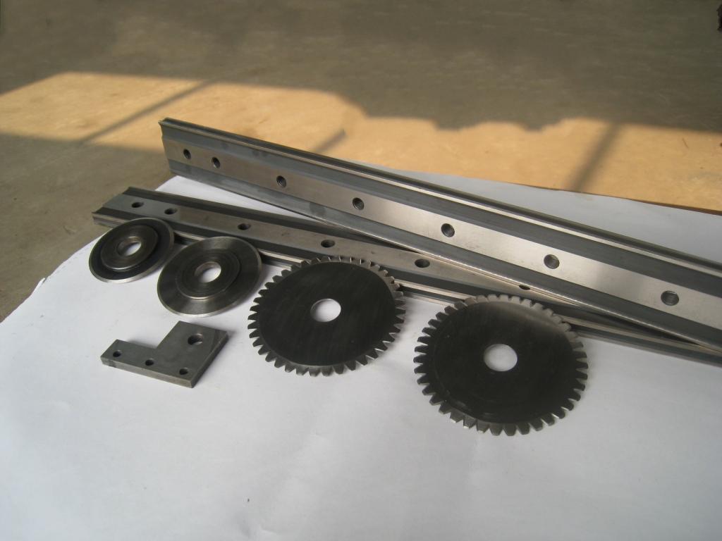 橡膠機械刀片 1