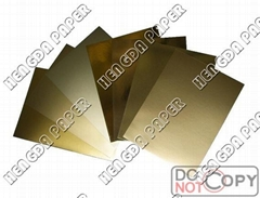 METALLIZED PAPER BOARD