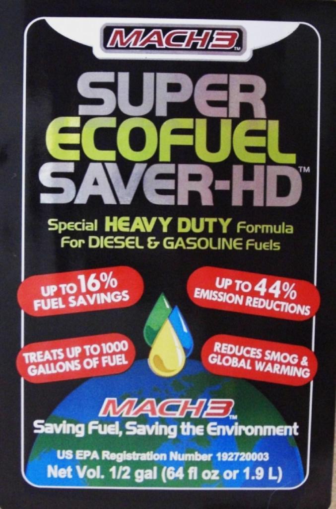 Mach3 Super Eco Fuel Saver HD 64 ounce 2