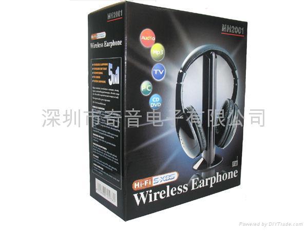 新品無線耳機 4