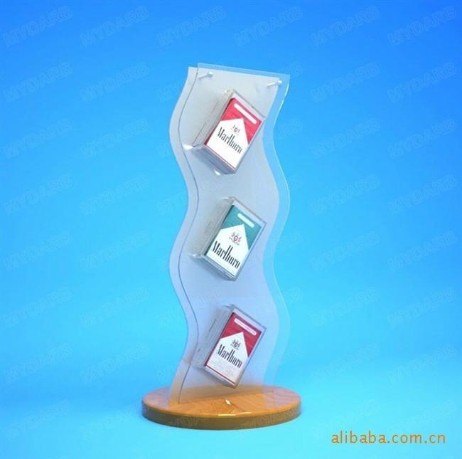 有机玻璃香烟展示架 1