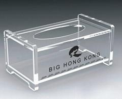 有機玻璃(壓克力)紙巾盒