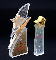 有机玻璃(压克力)奖杯奖牌