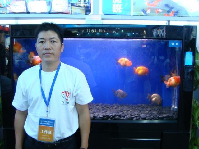 张建忠)晋京参加2010北京金鱼锦鲤选美大赛的福州金鱼,在决赛中脱颖