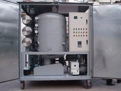 Vaccum oil filtration for insulating oil 1