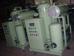 Light oil recycling machine with
