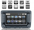 Car DVD Player With GPS,Bluetooth,DVB-T for Volkswagen sagitar(Jetta/Golf),Boro 1