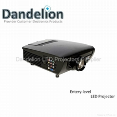 Entry-level led projector with 150inch image