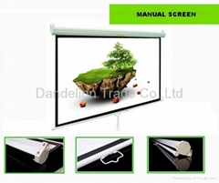 Manual projector screen wholesales