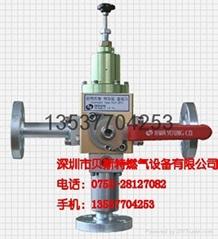 日本神乐KAGLA气化器公司/美国费希尔S301减压阀