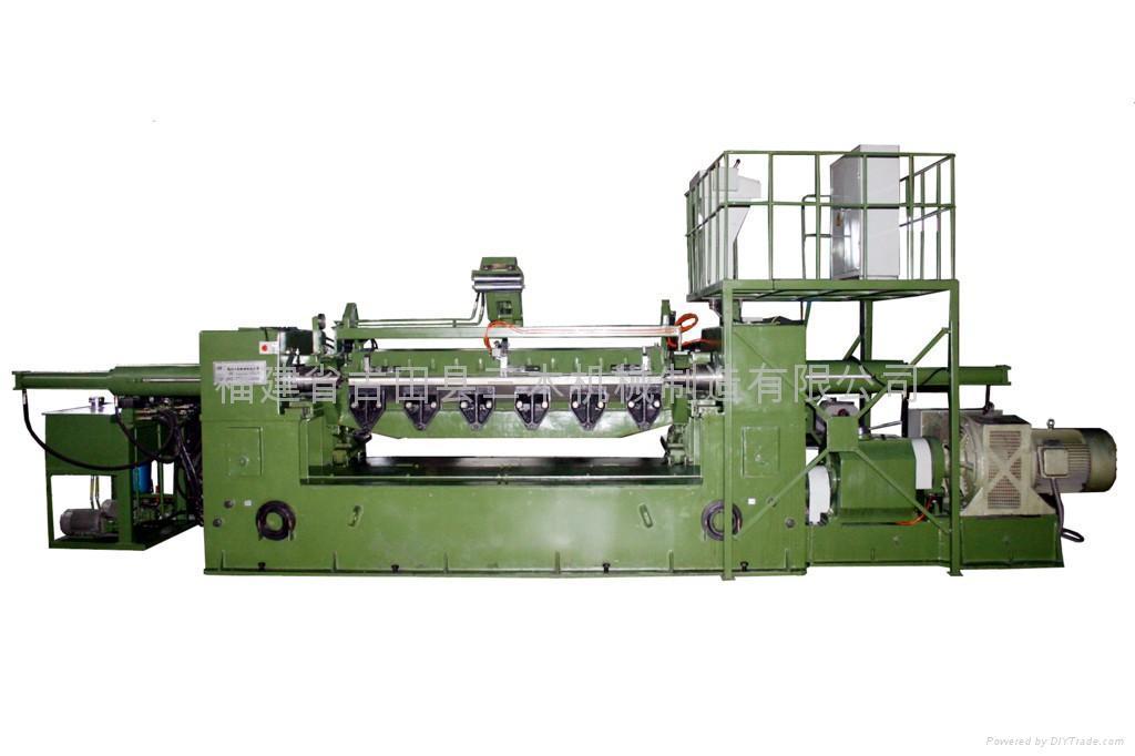 液壓單卡軸旋切機 1