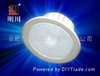 5W LED infrared and emergency sensor inlaid ceiling light