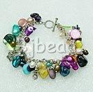 Handmade pearl shell bracelet
