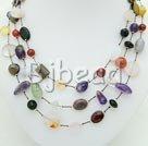 Handmade multi-stone necklace