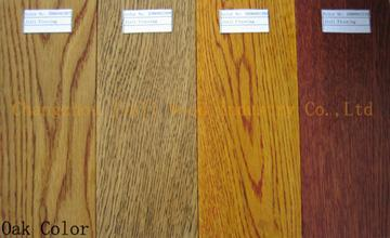 Solid Oak Flooring Stained Color China Manufacturer Wood Hardwood F