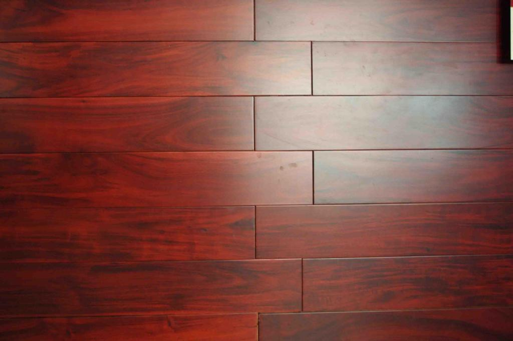 Asian Walnut Acacia Flooring Natural Color China