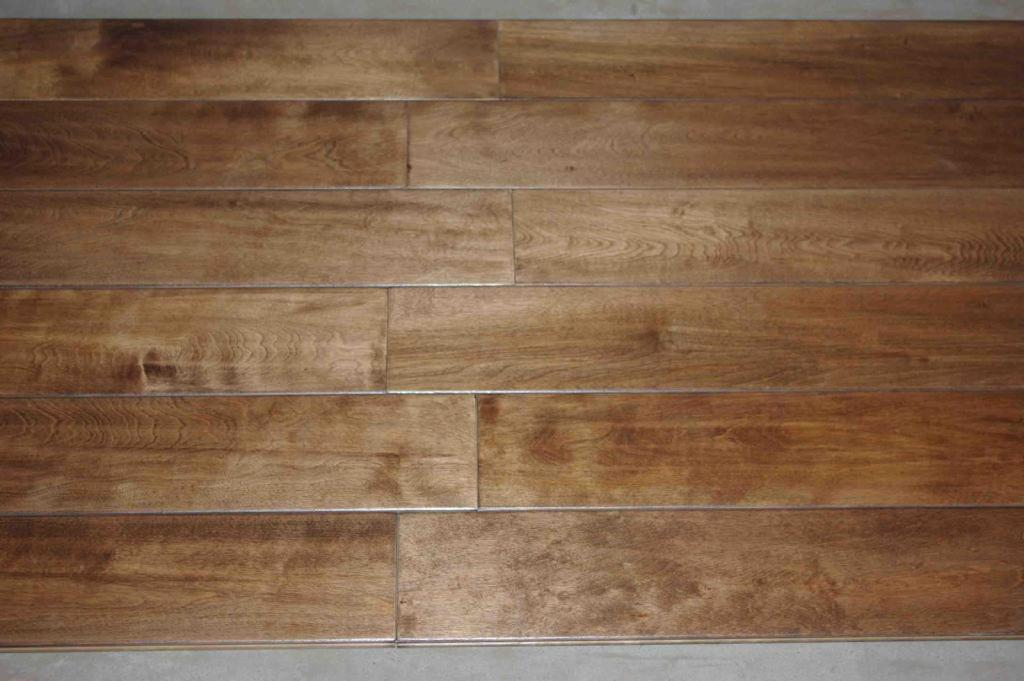 Maple Hardwood Floor Natural Color China Manufacturer