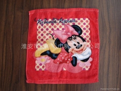 印花染色小毛巾