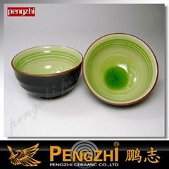 Ice-cracked Ceramic bowl