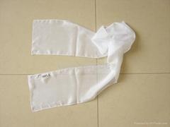 blank silk scarf